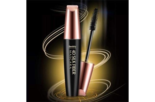 4D Silk Fiber Lash Mascara, Fiber Mascara, 4D Silk Fiber Eyelash Mascara, Best for Thickening & Lengthening, Waterproof