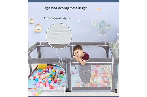 Baby Playpen Portable Kids Safety Play Center Yard Home Indoor Fence