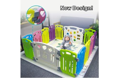 Baby Playpen Kids Activity Centre Safety Play Yard Home Indoor Outdoor New Pen