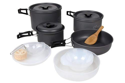 yodo Anodized Aluminum Cookware Set