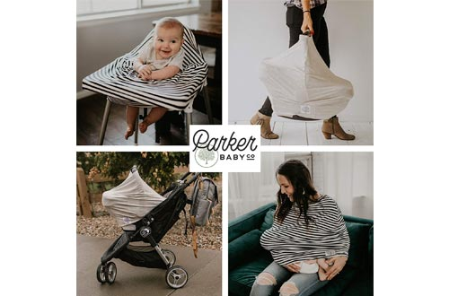 Parker Baby 4 in 1 Car Seat Cover for Girls
