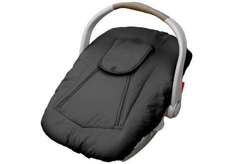 Jolly Jumper Arctic Sneak-A-Peek Infant CarSeat Cover With Attached Blanket, Weatherproof