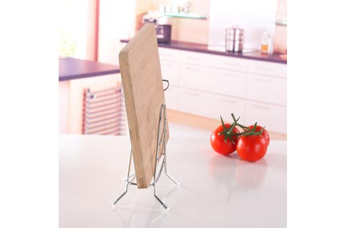 Fantastic Job Stainless Steel Cutting Board Holder,Chooping Board Stand Kitchen Household