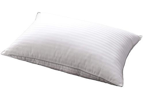 L LOVSOUL White Goose Down and Feather Bed Pillows