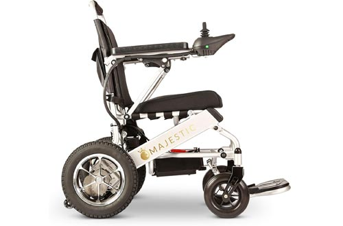 Culver 2020 Wide Ultra Lightweight Fold & Travel Electric Heavy Duty Mobility Power Wheelchair Scooter Travel Safe