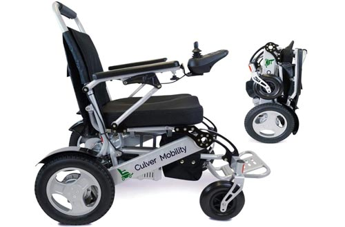 "Alton Best Rated Exclusive Dual ""500W"" Motors Deluxe Electric Wheelchair for Adults"