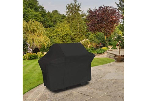 NEXCOVER Grill Cover, Waterproof BBQ Cover, 600D Heavy Duty Gas Grill Cover