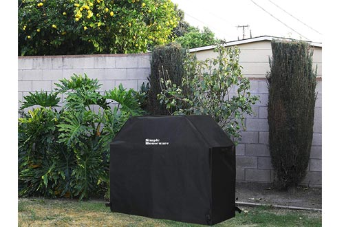 Simple Houseware 58-inch Waterproof Heavy Duty Gas BBQ Grill Cover
