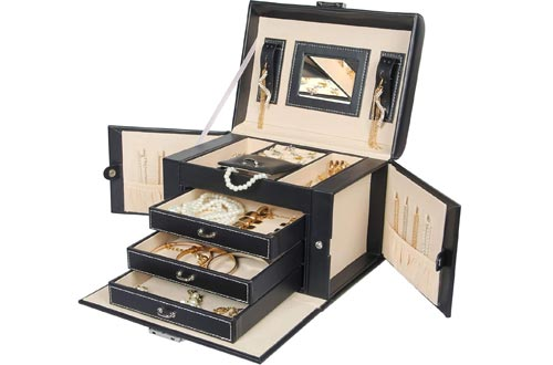 Homde Necklace Ring Storage Jewelry Boxes