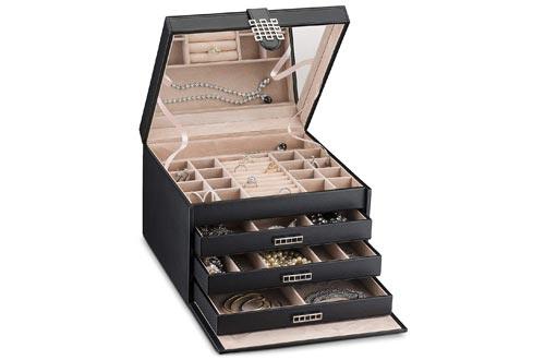 Glenor Co Extra Large Jewelry Box