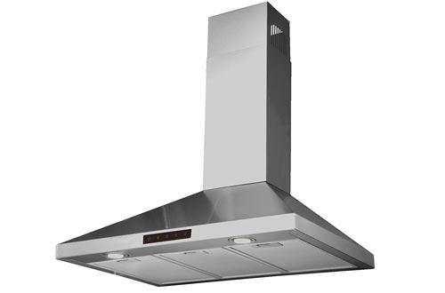 STL75-LED Stainless Steel Wall-Mounted Kitchen Range Hood