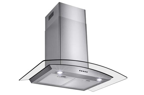 Perfetto Kitchen and Bath 30-inch Convertible Wall Mount Range Hood