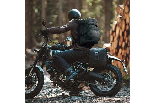 Helmet Backpack, Snowmobile Helmet Bag 37L Motorcycle Backpack Bag