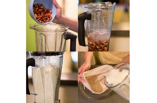 Organic Cotton Nut Milk Bag - Super Smooth Almond Milk Maker