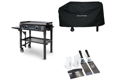 Blackstone 280-inch Outdoor Flat Top Gas Grill Griddle Station