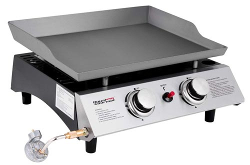 Royal Gourmet Portable 2 Burner Propane Gas Grill Griddle Pd 1201