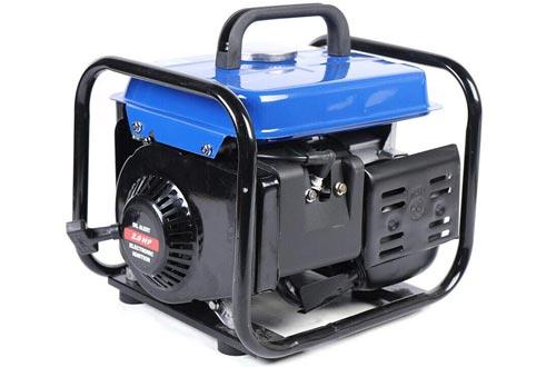 DY19BRIGHT 63CC 2 Stroke Gasoline Generator, 110V Camping Generator 650W Camping Inverter Generator Air-Cooled CE 4.2L US Warehuese