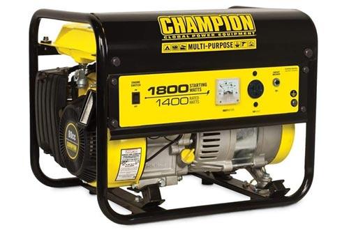 Champion 42432 1400 Watt Quiet Recoil Start EPA Certified & CARB Compliant Gas Powered Portable RV & Home Generator