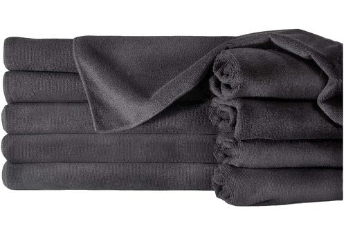 Towels by Doctor Joe ULTRA-15BLK Safe-2-Bleach