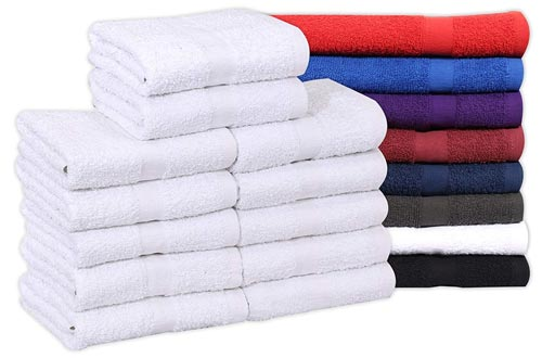Cotton Salon Towels 24-pack