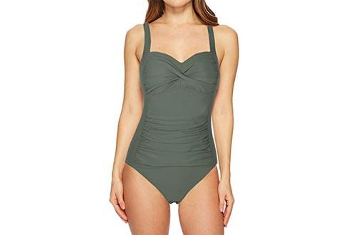 Firpearl Women's Black one-piece Bathing Suit