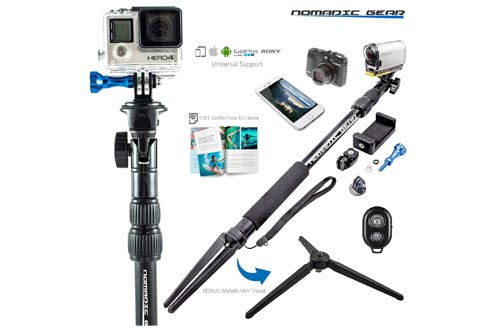 Nomadic Gear Selfie Stick and Tripod