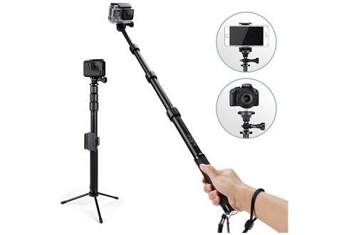 Waterproof Professional Selfie Sticks Extendable Pole 15.6-44 inch