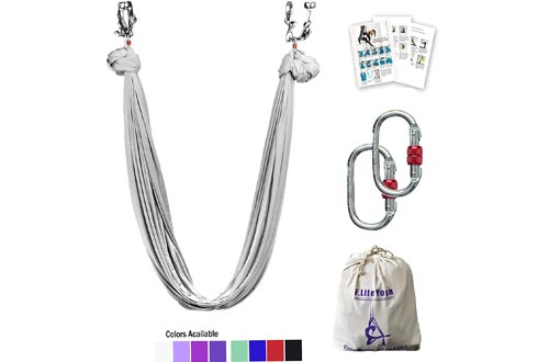 F.Life Premium Fabric Aerial Yoga Hammock