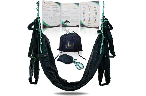 Aerial Yoga Swing Hammock / Strong & Durable Antigravity Inversion Kit