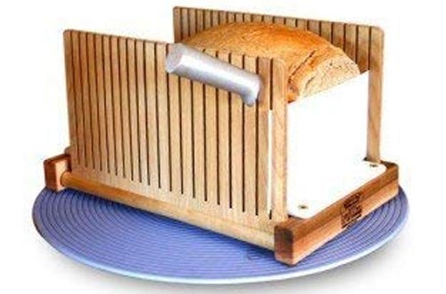 SierraBASE LLC The Bread Pal Bread Slicers, Maple, and Birch