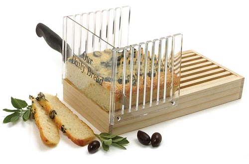 Norpro Bread Slicer with Crumb Catcher
