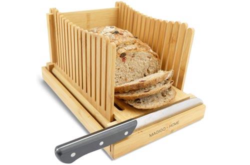 MAGIGO Bread Slicer Bambo Foldable