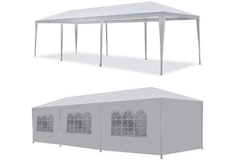 Smartchoices Outdoor Canopy Party Tents with removable sidewall