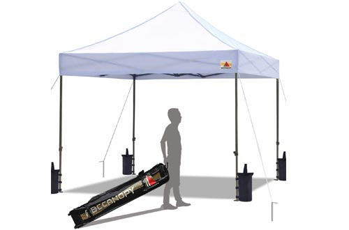 ABCCANOPY Pop up Canopy Tent With Sand Bags