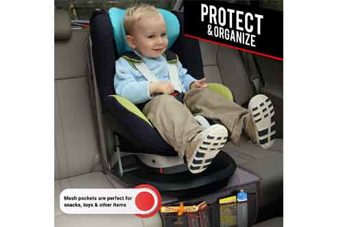 FORTEM Protector 2PK, Waterproof Backseat Thick Padding Cover for Car Seat, Protects Against Damage