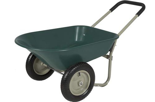 Best Choice Products Garden Carts Dual Wheel
