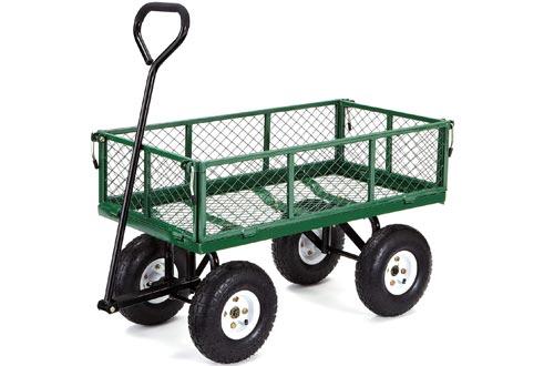 Gorilla Carts GOR400-COM Garden Cart