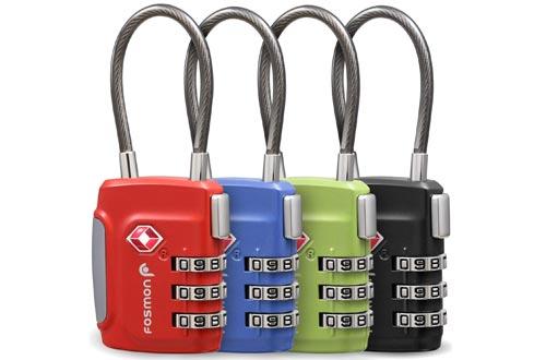 Fosmon Cable Luggage Locks