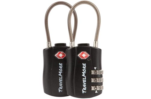 TravelMore Travel Combination Luggage Locks