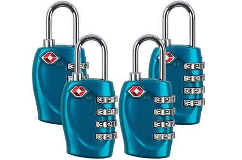 Zhovee 4 Dial Digit Luggage Locks