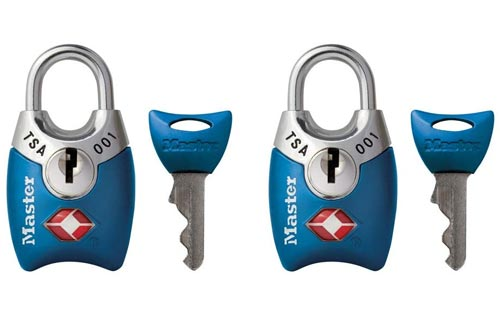 Master Lock 4689T Keyed Luggage Lock