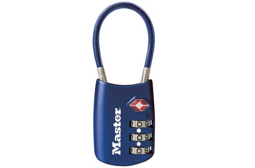 Master Lock 4688D Set TSA Accepted Luggage Lock