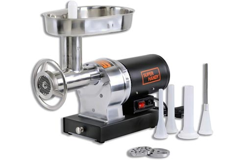 SuperHandy Heavy-Duty Commercial Kitchen Meat Grinder
