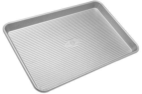 USA Pan Bakeware Half Sheet Pan, Warp Resistant Nonstick Baking Pan