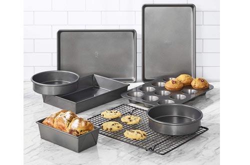 Chicago Metallic 5229030 Professional Non-Stick 8-Piece Bakeware Set