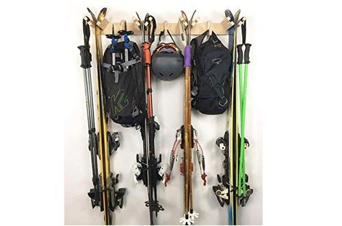 Pro Board Racks Ski Storage Rack The Apres Vertical