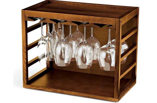 Wine Enthusiast Glass Rack