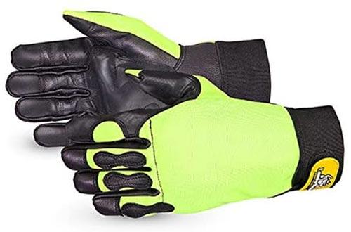 Endura Hi-Viz Cut-Resistant Chainsaw Gloves- 385CS