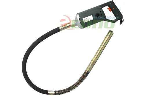"""1.5HP ELECTRIC HAND HELD HIGH SPEED CONCRETE VIBRATOR W/60"""" X 35mm SHAFT NEEDLE"""
