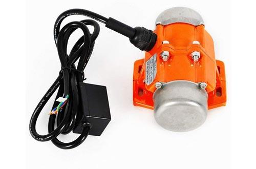 40W 110V Mini Vibrating Motor 3600 RPM Concrete Vibrator Vibration Motor Single Phase Aluminum Alloy Vibrating Vibrator Motor for Shaker Table Vibrating